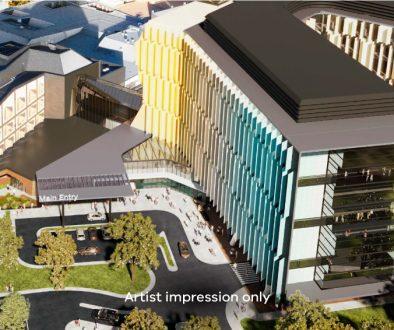 Frankston Hospital Artist render